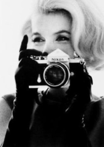 2 favorites of mine - Marilyn & Nikon
