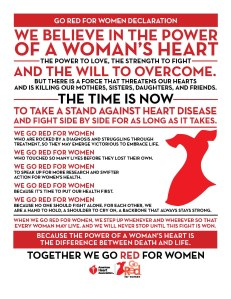 Go-Red-for-Women-Declaration