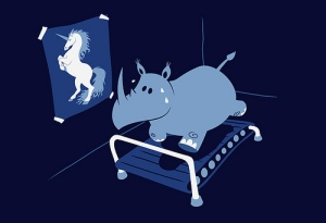 hippo-on-treadmill