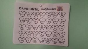100 Day Countdown to Disney